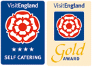 Visit Britain 4-Star Gold Award